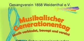 Plakat Musikalischer Generationentag