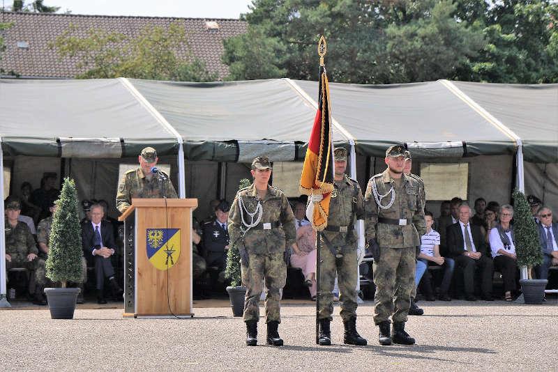 Rede General Hogrebe (Foto: Bundeswehr/Frank Wiedemann)