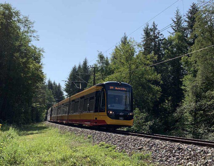 Stadtbahn Albtal (Foto: AVG)