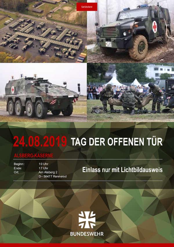 Plakat Tag der offenen Tür (Quelle: Bundeswehr)