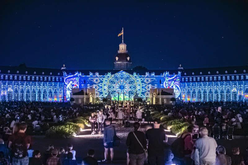 Schlosslichtspiele Karlsruhe (Foto: ARTIS - Uli Deck)