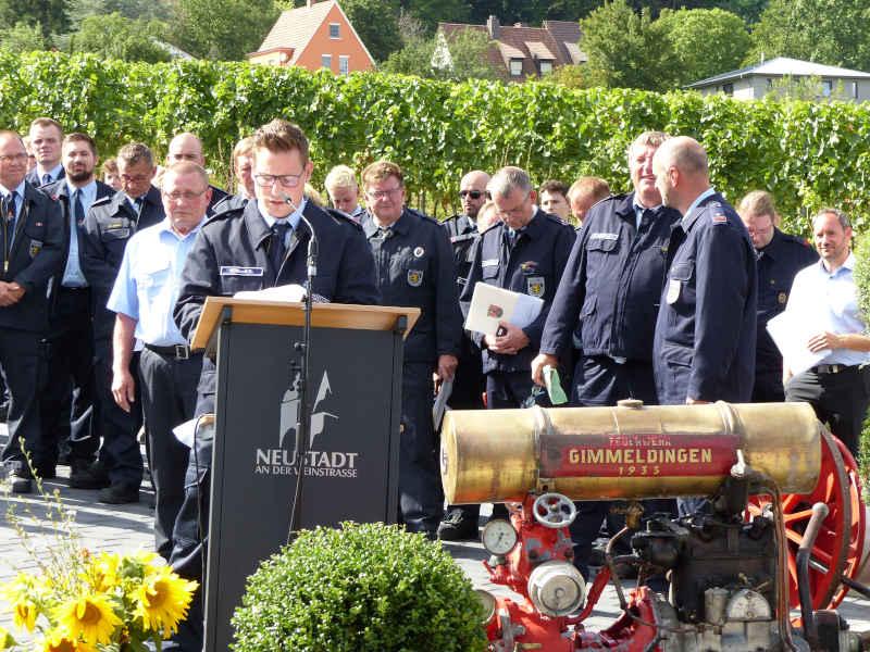 Verabschiedungen (Foto: Feuerwehr Neustadt)