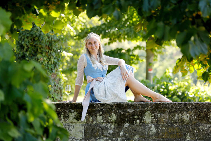 Weinprinzessin Selina (Foto: Melanie Hubach)