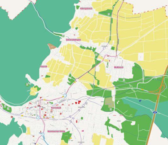 Weinstraßentag - Plan (Quelle: Stadtverwaltung Neustadt)