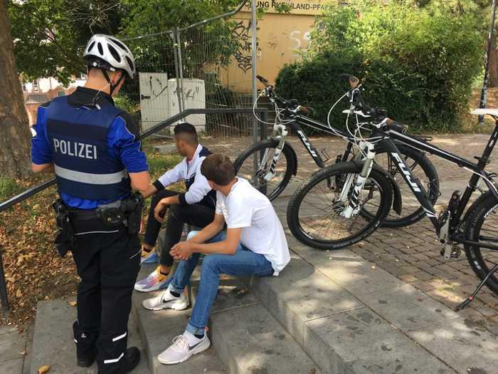 Fahrradstreife Symbolbild Polizei Kaiserslautern