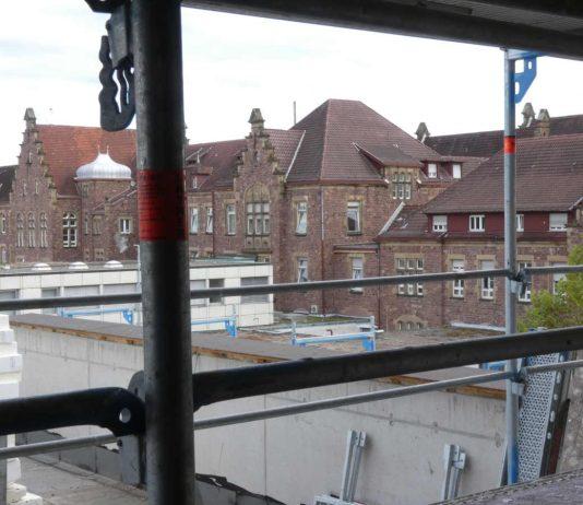 Karlsruhe Klinikum Baustelle (Foto: Hannes Blank)