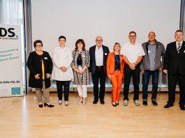 Manuela Baldauf, Verena Kiy, Sabine Vogt, Norbert Schneider, Liliana Gatterer, Christian Wolf, Ralf Bastian, Joachim Schneider. (Foto: Martin Koch)