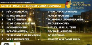 Achtelfinale Bitburger-Verbandspokal 20192020