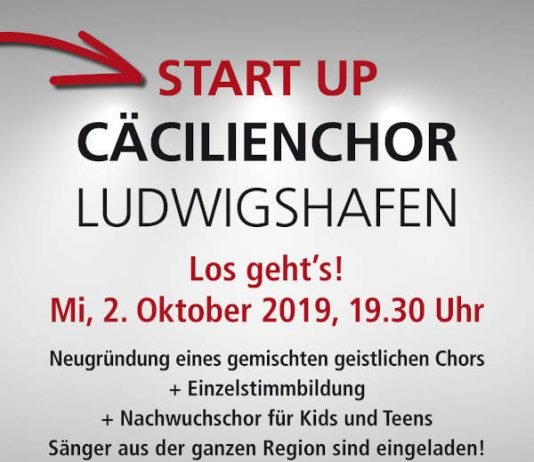 Start Cäcilienchor Ludwigshafen