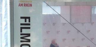 Das Zelt für die Filmgespräche auf der Parkinsel in Ludwigshafen (Foto: Hannes Blank)