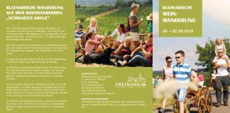 Kulinarische Weinwanderung Freinsheim 2019