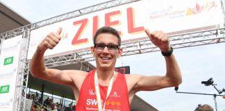 Jannik Arbogast, Gewinner Marathon (Foto: Uli Deck)