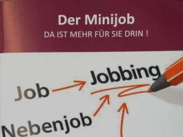 """Broschüre """"Der Minijob"""" (Quelle: Kreisverwaltung Bad Dürkheim)"""