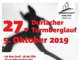 Plakat 27. Turmberglauf