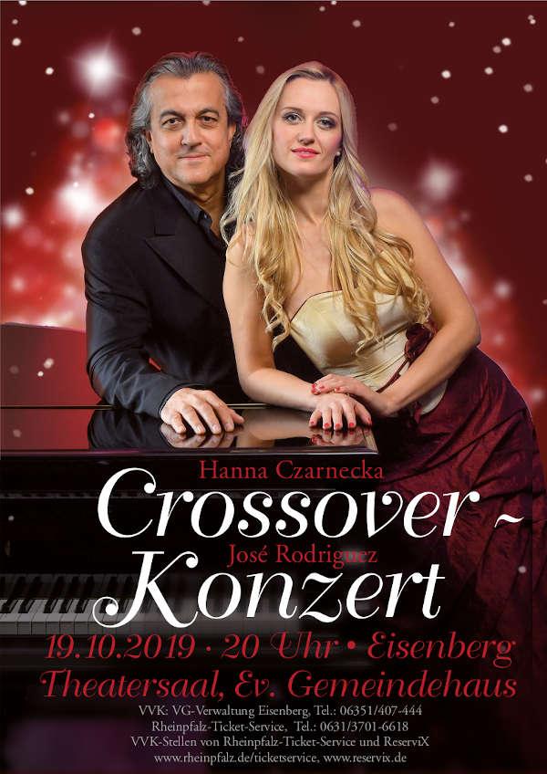 Plakat Crossover-Konzert
