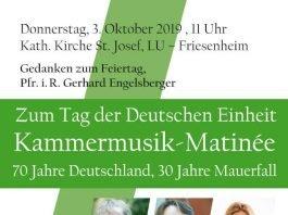 Kammermusik-Matinée an St. Josef/Friesenheim
