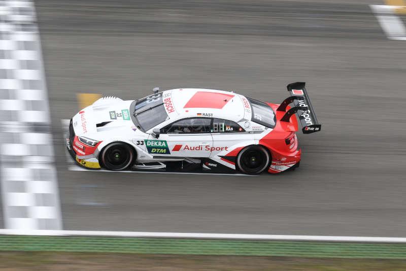 René Rast im DTM-Audi (Foto: Hockenheim-Ring GmbH)