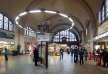 Symbolbild, Bahnhof, Bahnhofshalle Gießen © Bundespolizei