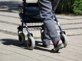 Symbolbild, Senioren, Rollator, Gehhilfe, Frau, Spaziergang, Straße, Weg © Jasmin Sessler on Pixabay