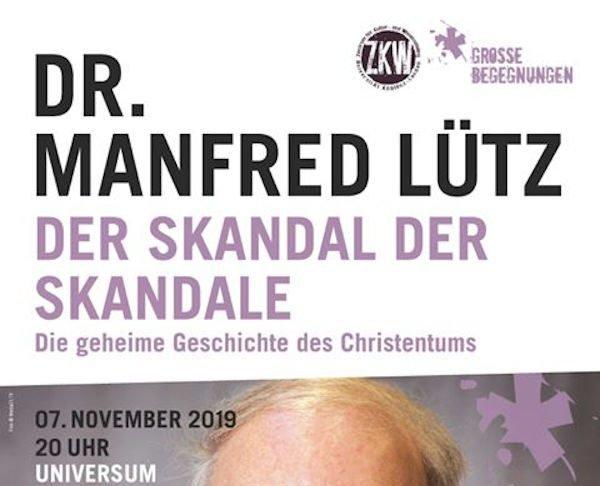 """Vortrag """"Der Skandal der Skandale - Die geheime Geschichte des Christentums"""""""