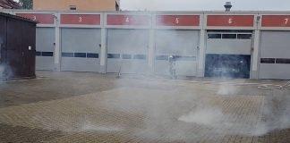 Der praktische Teil (Foto: Feuerwehr Neustadt)