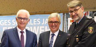 Minister Lewentz mit Manfred Breitbach und Frank Hachemer (Foto: MdI RLP)