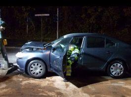 Die Unfallstelle (Foto: Polizei Neustadt)