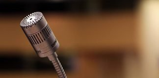 Symbolbild Vortrag Mikrophon (Foto: Pixabay/Maike und Björn Bröskamp)