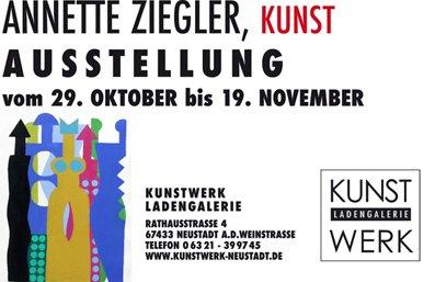 Ausstellung von Annette Ziegler