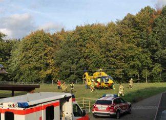 Arbeitsunfall-Mehlbach-Bild-1_© Feuerwehr VB Otterbach-Otterberg