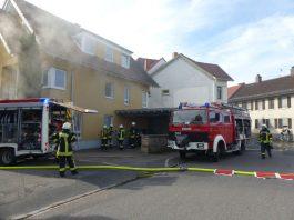 Brandeinsatz (Foto: Feuerwehr Neustadt)