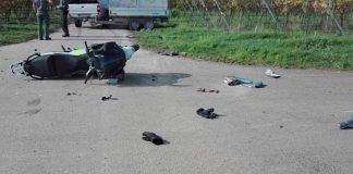 Der Rollerfahrer wurde verletzt (Foto: Polizei RLP)