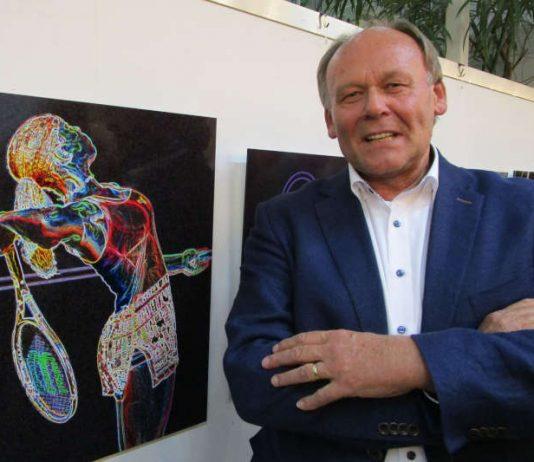 Die Sportfoto-Ausstellung von Bernhard Kunz aus Mutterstadt wird beim Immobilienunternehmen GAG in Ludwigshafen am 10. Oktober ab 17 Uhr eröffnet (Foto: Michael Sonnick)