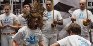 Capoeira-Kinderkurse (Foto: Ulla Havemann)