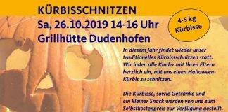 Kürbisschnitzen der CDU Dudenhofen