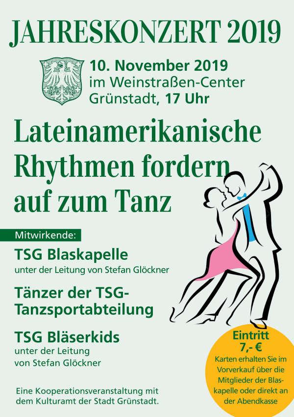 Jahreskonzert der TSG Blaskapelle Grünstadt