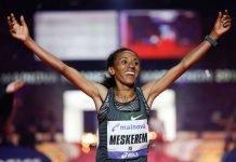 Meskerem Assefa (Foto: Mainova Frankfurt Marathon)
