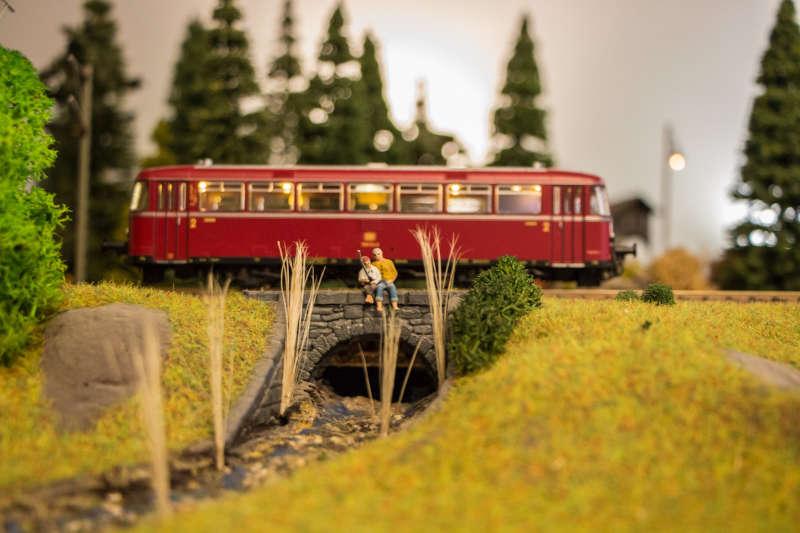 Modellbahneisenbahn (Foto: Mundenheimer Modelleisenbahn Club)