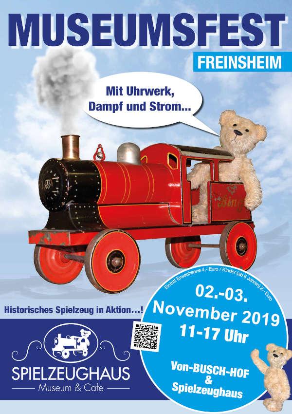7. Int. Freinsheimer Spielertreffen für historisches Blechspielzeug