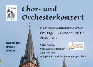 Chor- und Orchesterkonzert (Plakat: Musikverein Otterbach