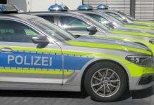 Symbolbild, Polizei, Streifenwagen mehrere