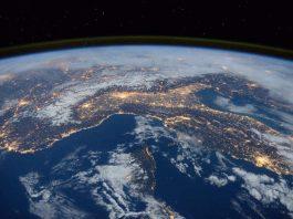 Foto von der ISS zur Erde (Foto: Pixabay)