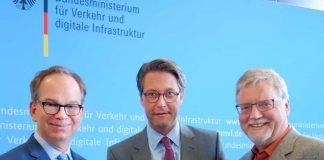 Professor Schotten (li.)