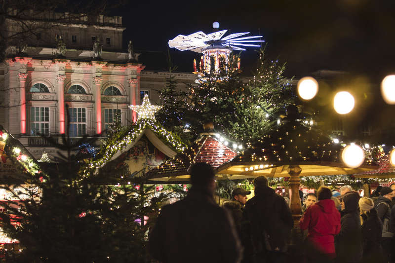 Christkindlesmarkt Karlsruhe (Foto: Andrea Fabry)