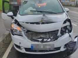 Fahrzeug vom Unfallverursacher (Foto: Polizei RLP)