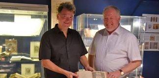 Michael Landgraf (links) und David Trobisch (Foto: Religionspädagogisches Zentrum)