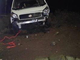 Der beschädigte Fiat-Transporter (Foto: Polizei RLP)