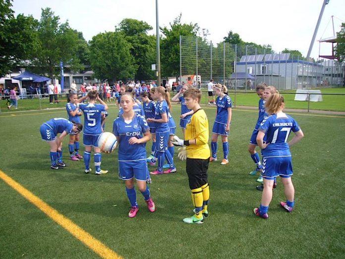 Fußball-Juniorinnen (Foto 2013: Hannes Blank)