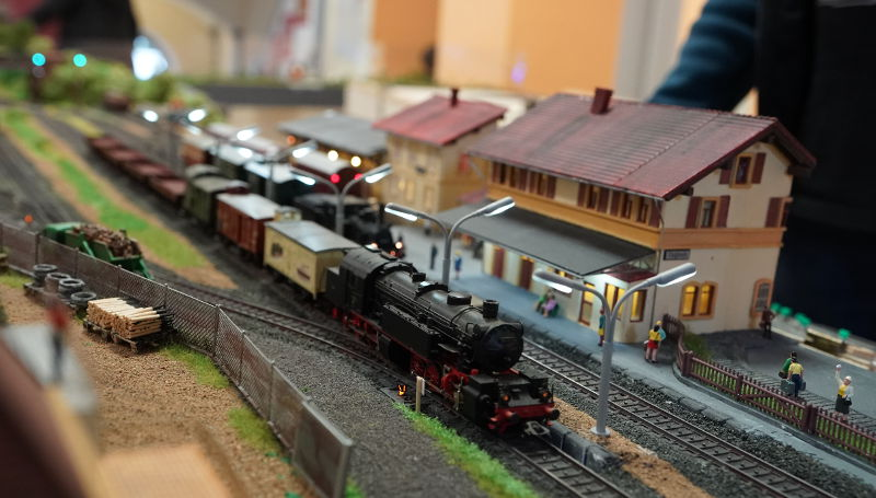 Modelleisenbahn in Aktion 2019 (Foto: Holger Knecht)
