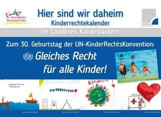 Deckblatt Kalender Kinderrechte